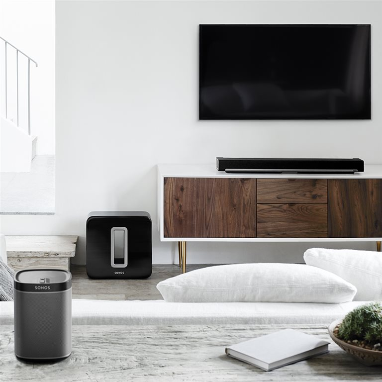 sonos smart speaker music systems automated lifestyles. Black Bedroom Furniture Sets. Home Design Ideas