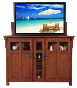 TVs That Pop Out Of Cabinets