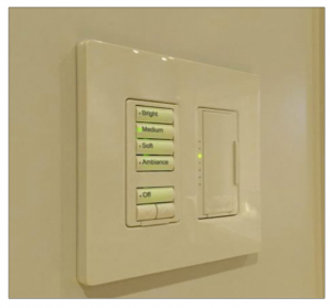 Convenient Keypad Eliminates Dimmers