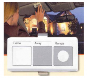 Car Visor Lighting Control